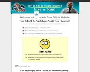 Roulette Boss – How To Win At Online Roulette Like A Boss!