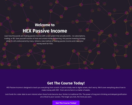 Hex Passive Income – Investing Strategy To Make Money Online