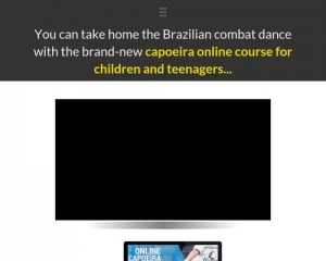 Online Capoeira Trail For Kids An Teenagers