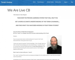 Torah Online – Learn Bible With The Masters